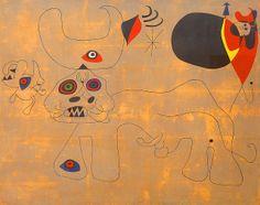 Joan Miró, The Bull Fight 1945
