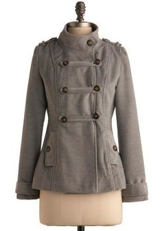 military-inspired Fall Jacket