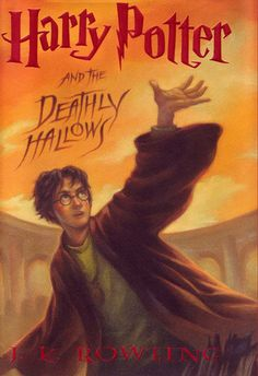 First book for the Empty Shelf Challenge-Harry Potter and the Deathly Hallows