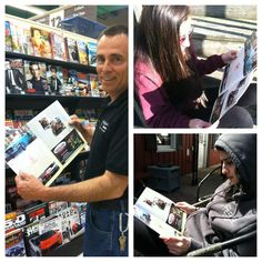 """Miss Mopar's family checking out her story in CP, """"A Family Affair"""""""