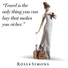 """""""Travel is the only thing you can buy that makes you richer."""" >>Click on the pin to shop fabulous jewelry and gifts at Ross-Simons."""