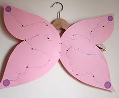 #ali da #farfalla #fai da te