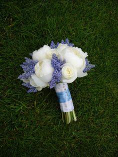 Peonies & Muscari Bouquet