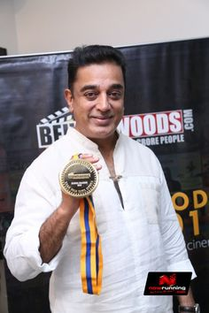 Kamal Hassan At Behindwoods Gold Medals 2013