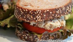 Save-the-Tuna Salad on Rye from Crazy Sexy Kitchen #vegan #recipes #kriscarr #CrazySexyKitchen