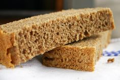 Homemade sprouted-grain bread