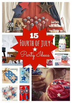 Fourth of July Party Ideas - www.spaceshipsandlaserbeams.com