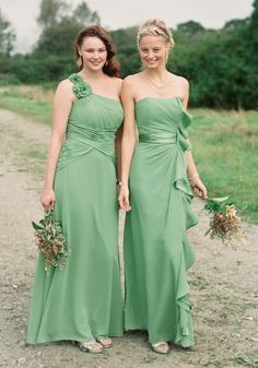 Check out styles F14010 and F14336 in Clover, as well as all of our other styles available in this hue! #davidsbridal #bridesmaiddresses Enter the Style My Maids Sweeps for a chance to win a 500 dollar David's Bridal gift card: sweeps.piqora.com...  Ends 4/29/13 Rules: sweeps.piqora.com...