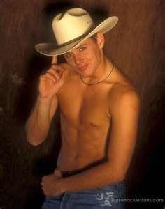Hot, shirtless cowboy. Chace Crawford
