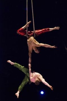 Aerial doubles.strength.