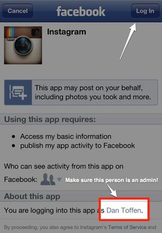 Share photos to your brand's Facebook page • Instagram Help Center