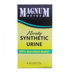 Magnum Synthetic Urine 4oz | Does Synthetic Urine Work? This One Does!