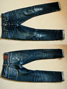 #denim jeans homme, bloodless skull