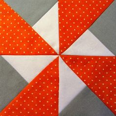 42 Quilts: Modern Monday - Block 32: Double Pinwheel #quilt #block #tutorial