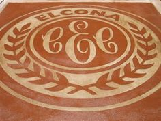 This concrete logo is kept simple with a two color design.  Concreations, LLC Millersburg, IN