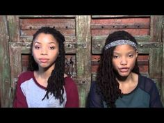 Beyonce Pretty Hurts COVER Chloe & Halle
