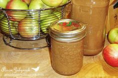 Canned homemade apple sauce!