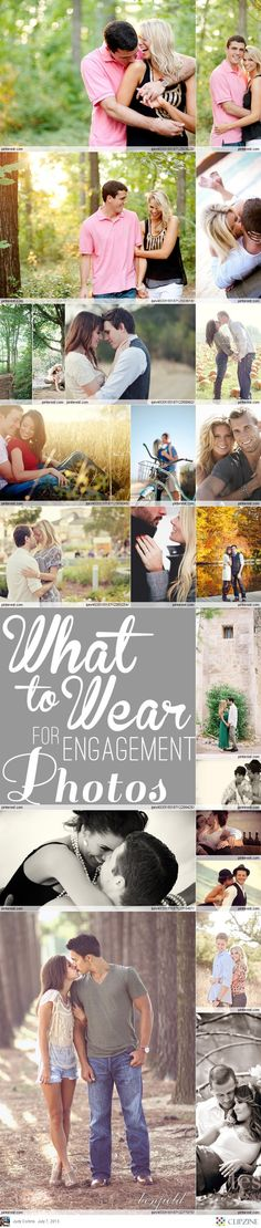 Engagement Photography...what to wear