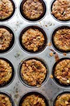La Gallette: Toffee pear muffins