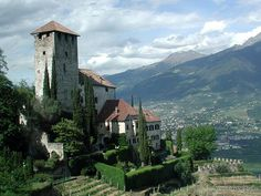 Lebenberg Castle in Tscherms, Italy