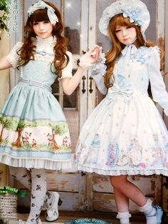Japanese Lolita fashion♪  By.Gothic Bible