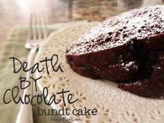 death by chocolate bundt cake - amazing!