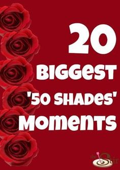 Are these the 20 BIGGEST Fifty Shades moments? http://thestir.cafemom.com/entertainment/165888/20_biggest_50_shades_of?utm_medium=sm&utm_source=pinterest&utm_content=thestir