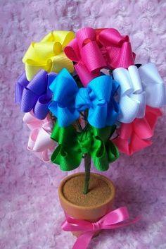 parti decor, bow tree, cute bows for hair, display bow, cute hair bows for babies