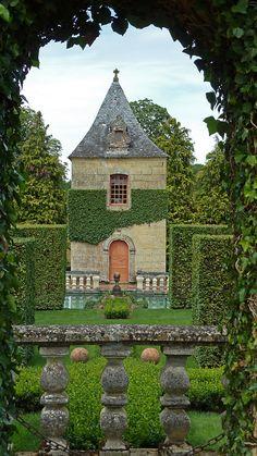 Jardins du manoir d'Eyrignac, France
