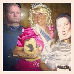 Cool Homemade Costume for Groups: Here Comes Honey Boo-Boo... Coolest Halloween Costume Contest