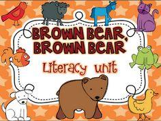 Brown Bear, brown bear literacy unit
