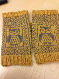 libraries, yarn inspir, patterns, owl mitten, owli mitt