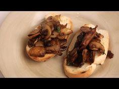 Mushroom Bruschetta Recipe - by Laura Vitale - Laura in the Kitchen Episode 289