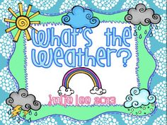 Our Math Centers this Week...plus some rainy fun!