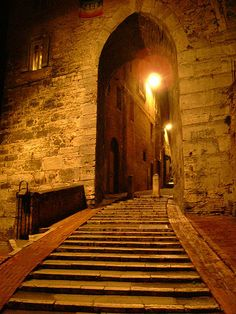 stairs to the Middle Ages (Perugia)