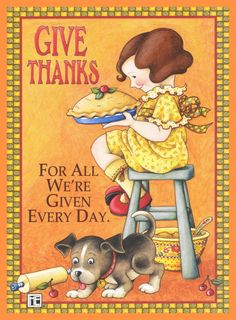 Give Thanks - Mary Engelbreit