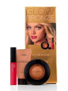 VS Makeup NEW! Glow Bronze Kit #VictoriasSecret http://www.victoriassecret.com/beauty/makeup/glow-bronze-kit-vs-makeup?ProductID=108643=OLS?cm_mmc=pinterest-_-product-_-x-_-x