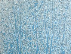 Sara Eichner-'blue trees'-Sears-Peyton Gallery