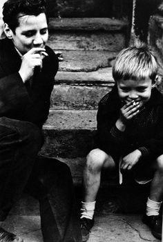 Roger Mayne- Boys smoking 1956