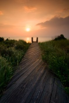 Sunrise in Duck, N.C. Outer Banks