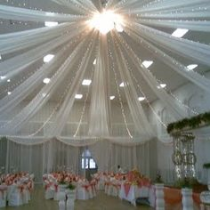 Decorating Ideas Using Tulle | How To Decorate A Wedding Reception - Tips To Decorate A Wedding ...