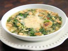 Chickpea and potato soup