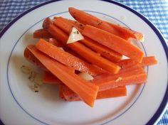 lactofermented carrot sticks