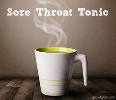 Sore Throat Tonic