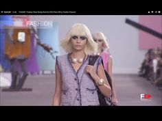 "▶ ""CHANEL"" Fashion Show Spring Summer 2014 Paris HD by Fashion Channel - YouTube"