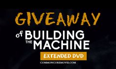 To spread the word further about the Common Core, we're GIVING AWAY a copy of the Building the Machine DVD; A gripping half-hour documentary that tells the story about the Common Core, one of the biggest national reforms to be adopted behind closed doors. #CommonCore #giveaway