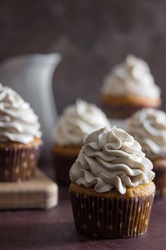 Sweet Potato Cupcake
