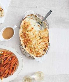 Scalloped Potatoes, Real Simple, Christmas menu? Do I dare make a different recipe from my mom's??!!