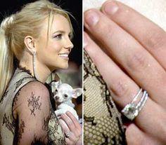 Britney Spears Engagement Ring #ring #engagement #diamond #bling