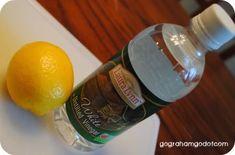 homemade fruit and veggie wash